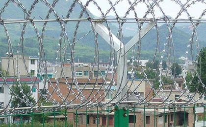 监狱刀片刺绳